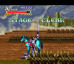 Knights of the Round SNES Stage 2 Clear!
