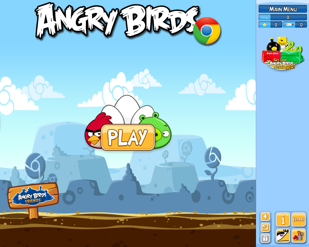 Angry Birds Screenshots for Browser - MobyGames