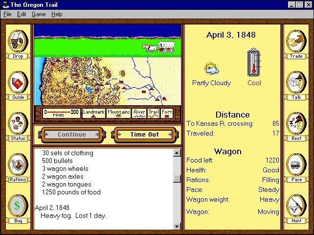 The Oregon Trail Screenshots for Windows - MobyGames