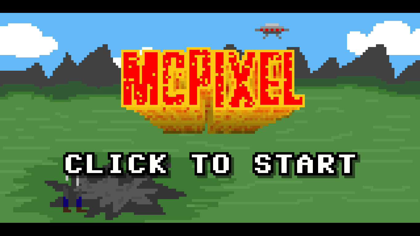 McPixel Windows Title screen