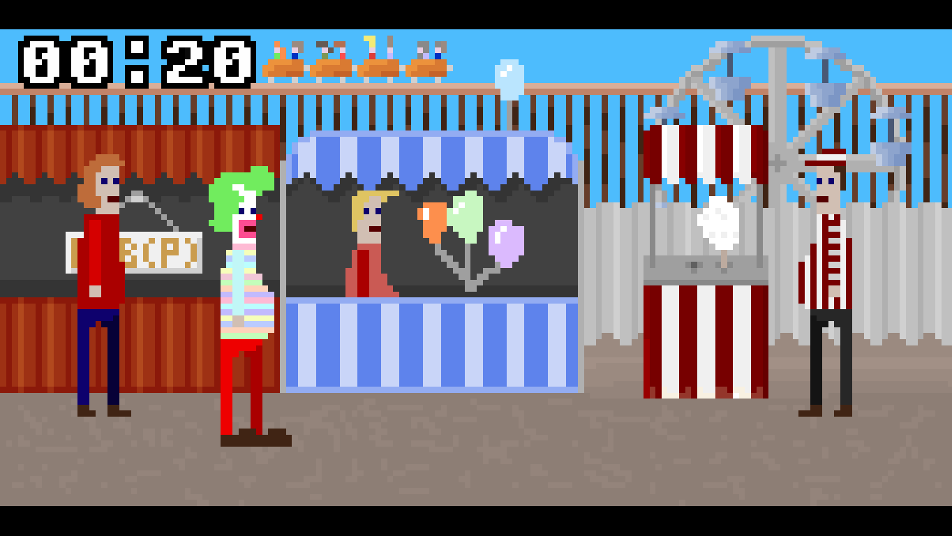 McPixel Windows Circus