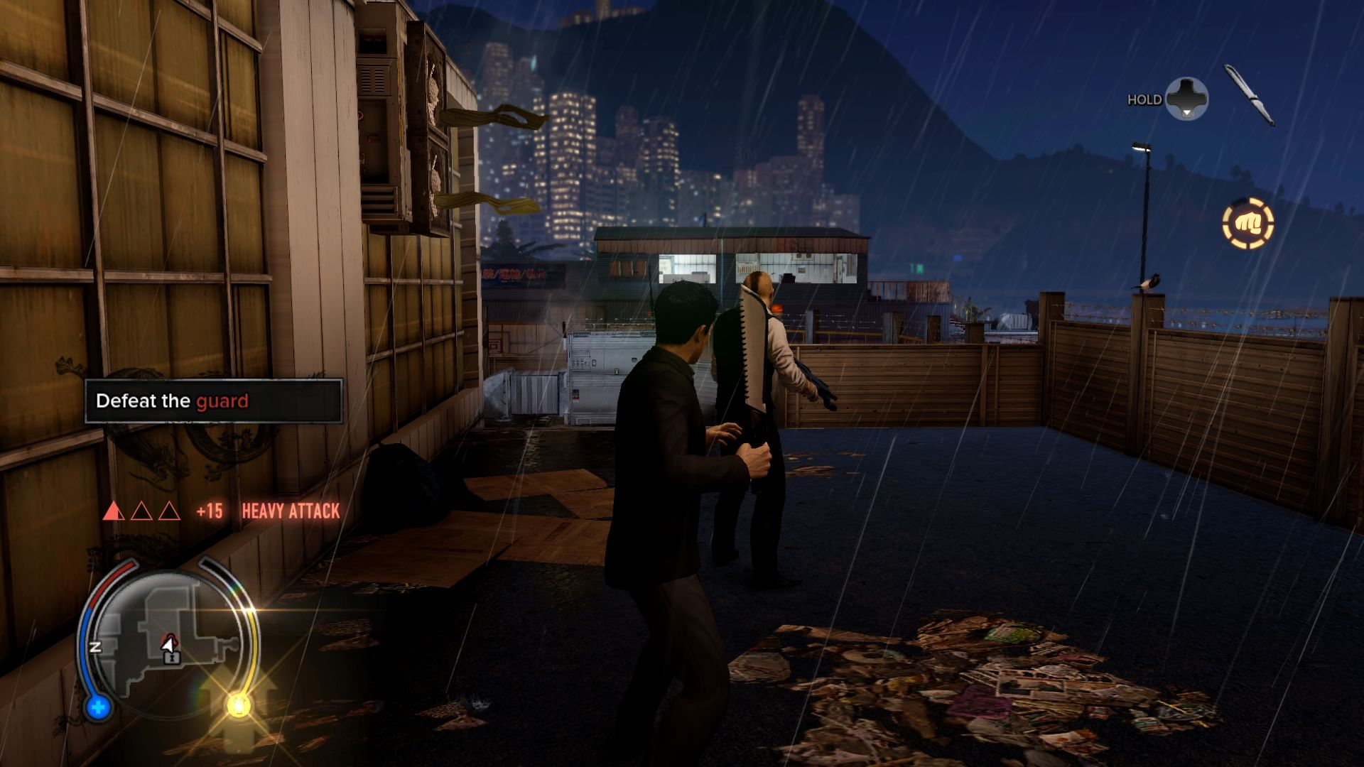 Sleeping Dogs Windows If you encounter an armed enemy, take the weapon. Without it, you won't survive for long.