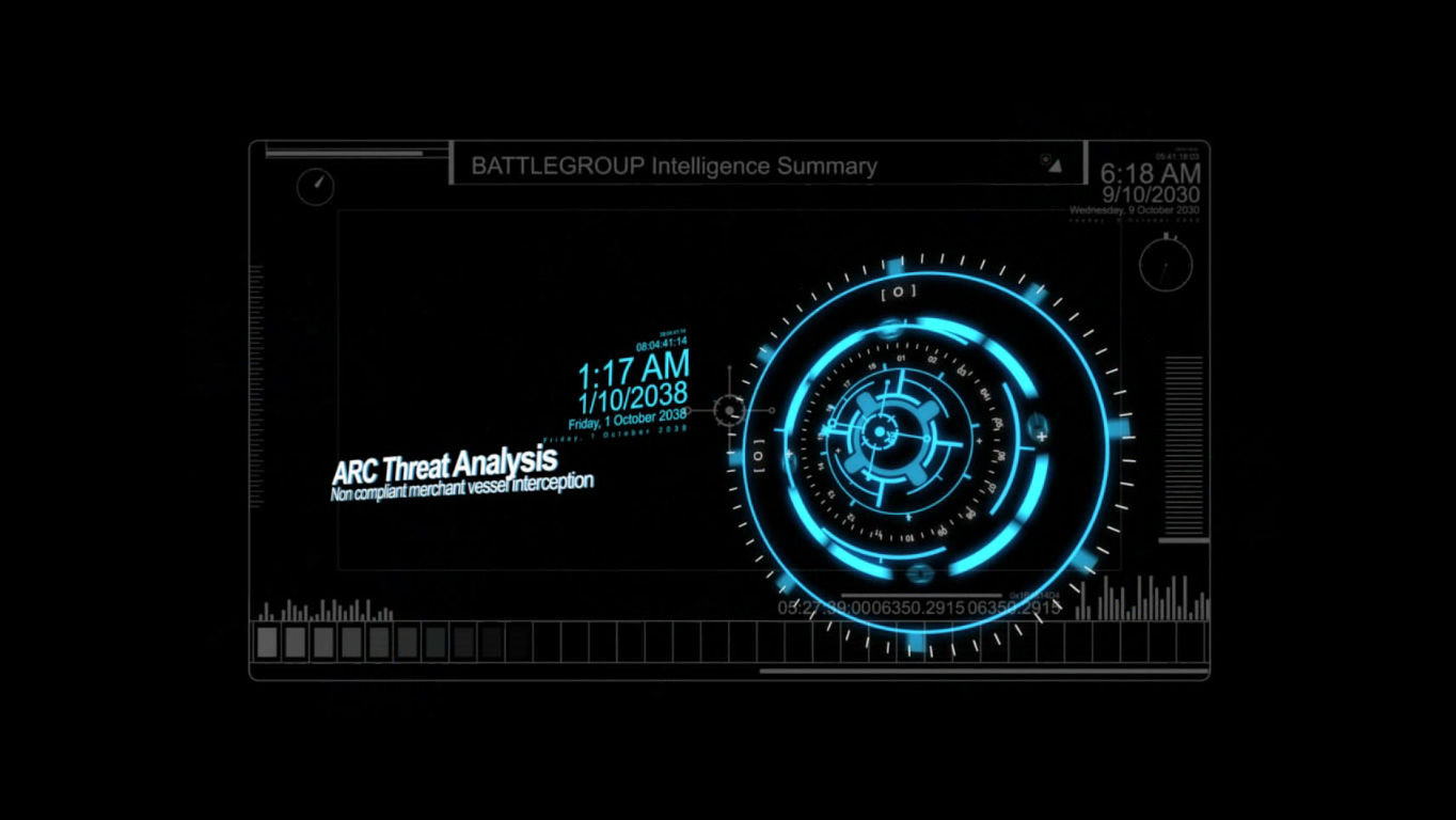 Battle Group Windows Introduction sequence