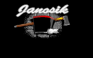 Janosik DOS Title Screen