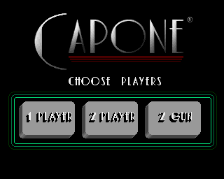 Capone Amiga How many players?