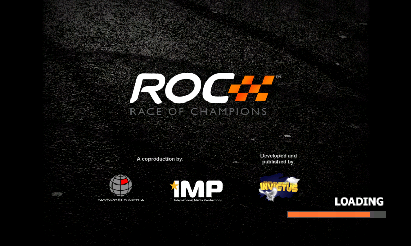 Race of Champions Android Loading screen