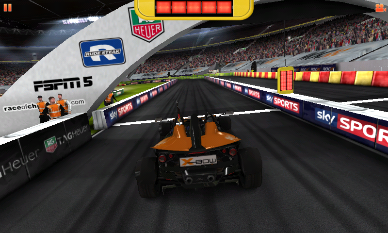 Race of Champions Android About to start