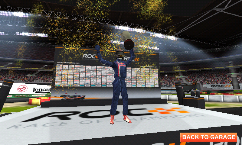 Race of Champions Android Let's celebrate!