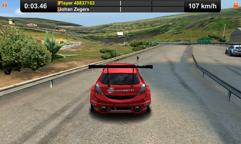 Race of Champions Android Driving the Solution F
