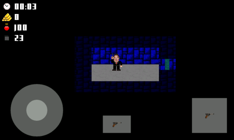 Vogelstein 2D Android Starting area of the first level