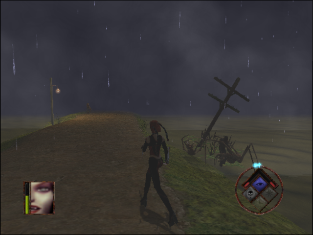 BloodRayne GameCube The enemies are too busy with each other for now