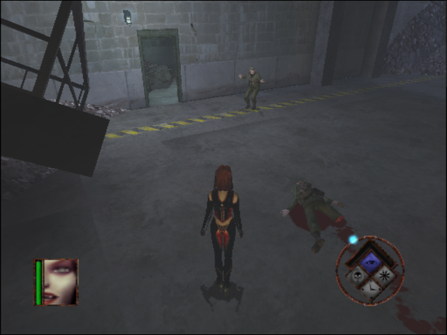 BloodRayne GameCube Should we kill or let him live?