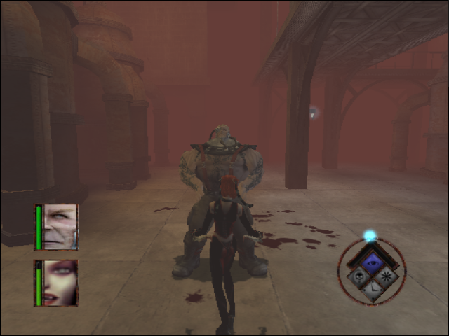 BloodRayne GameCube A boss fight