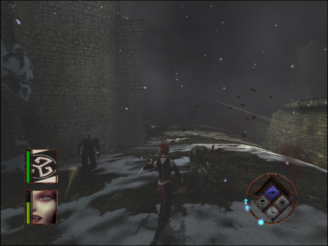 BloodRayne GameCube Near Nazi castle