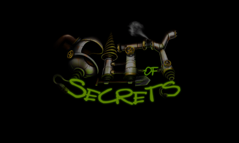 City of Secrets Android Title screen