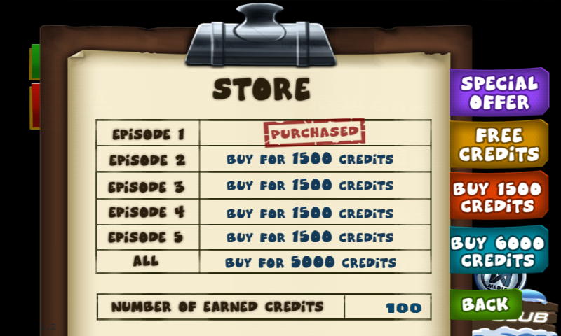 City of Secrets Android Buy credits of participate in various incentives to earn credits, to unlock the other episodes.