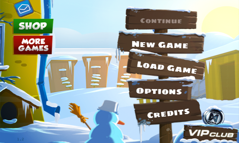 City of Secrets Android Main menu