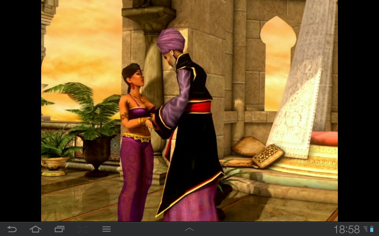 Prince of Persia Classic Android Jaffar and the Princess