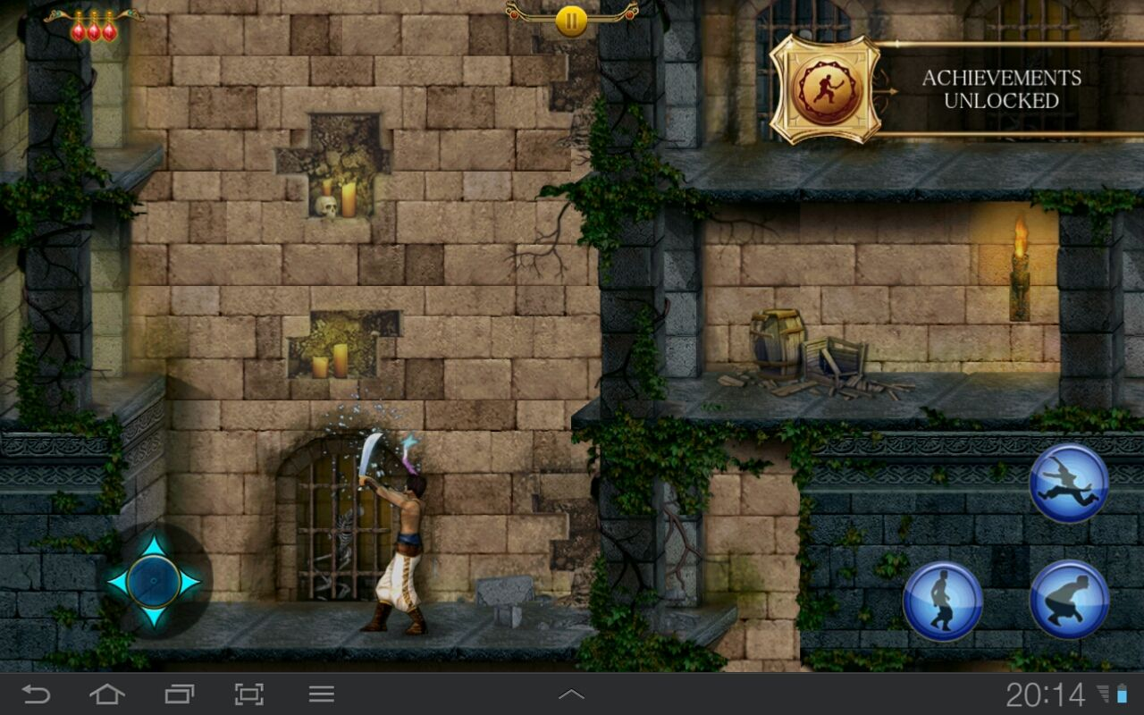 Prince of Persia Classic Android Found the sword