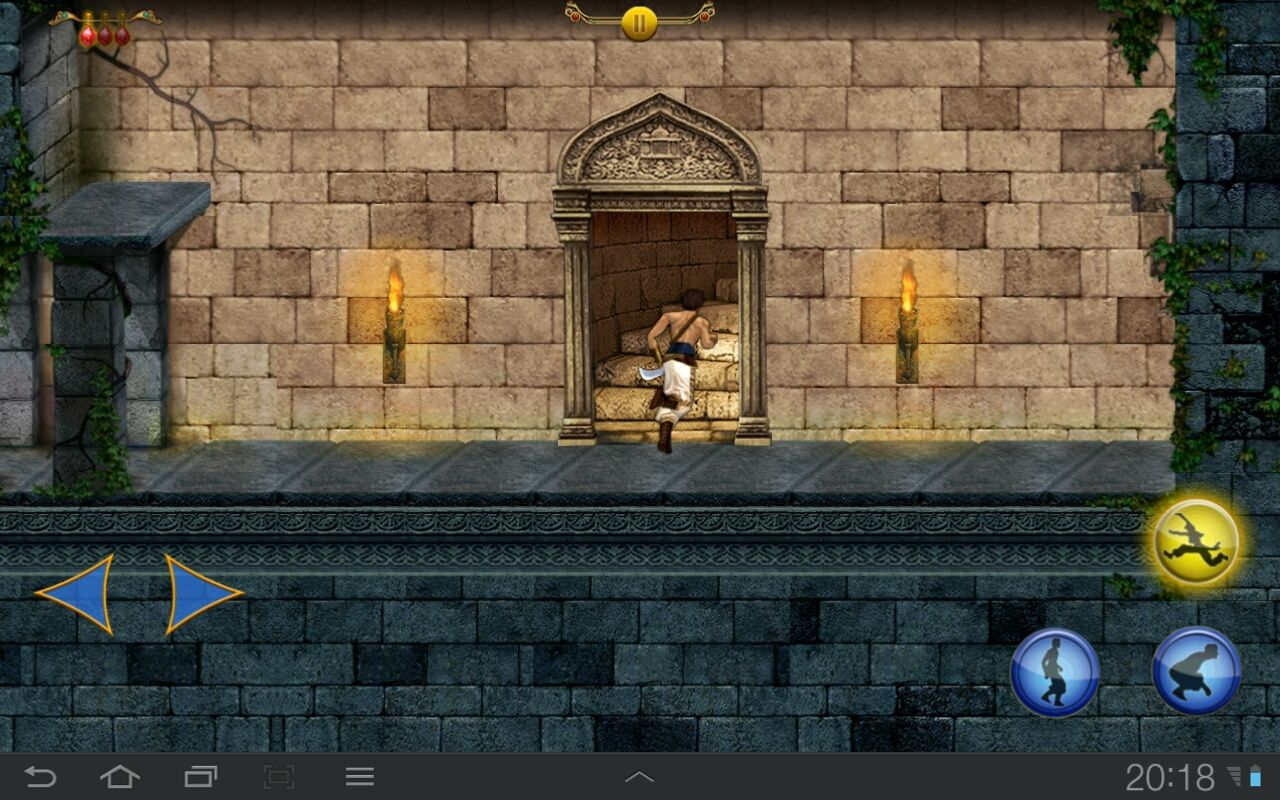Prince of Persia Classic Android Exiting the level