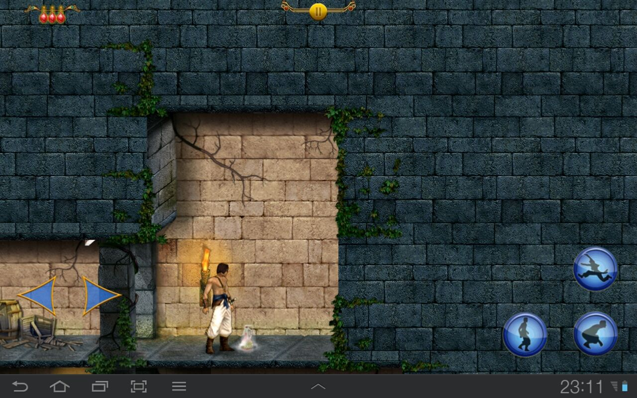 Prince of Persia Classic Android Found an elixir