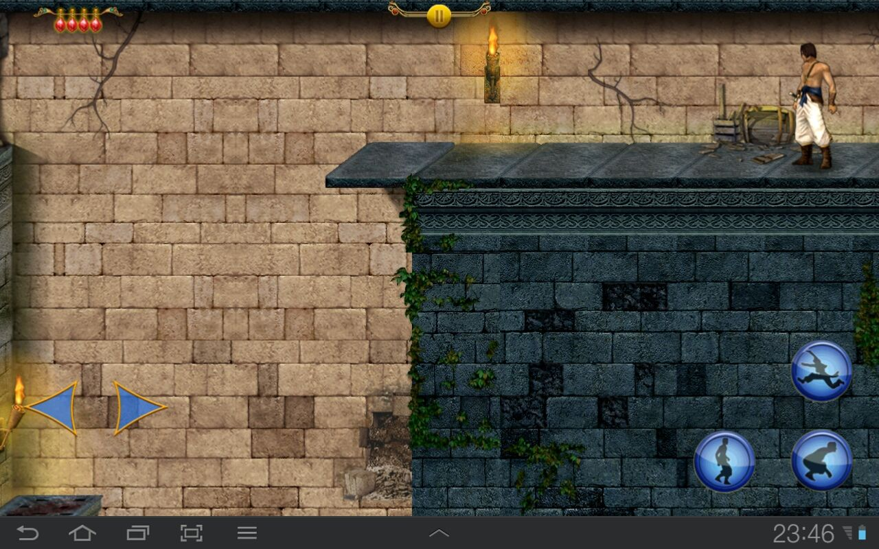 Prince of Persia Classic Android One of those unforgiving jumps
