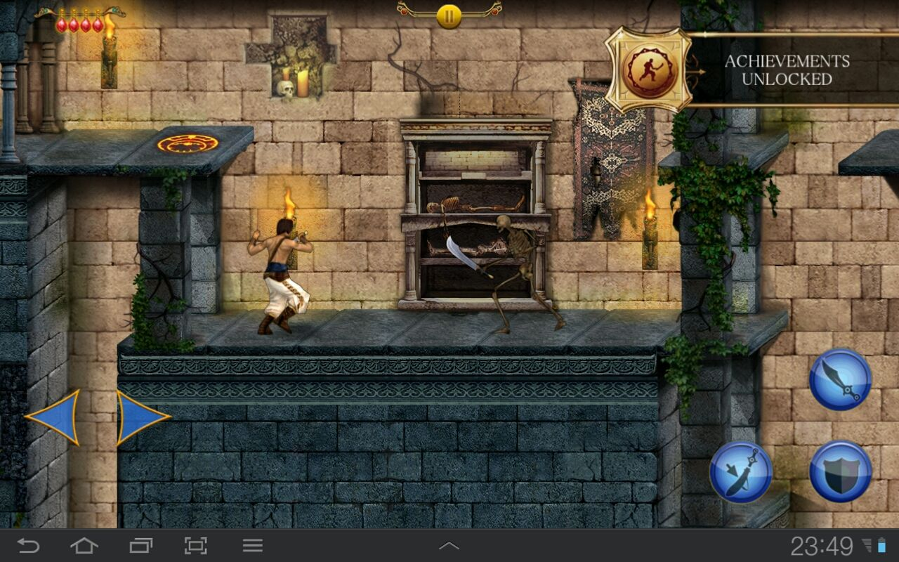 Prince of Persia Classic Android We all remember this skeleton