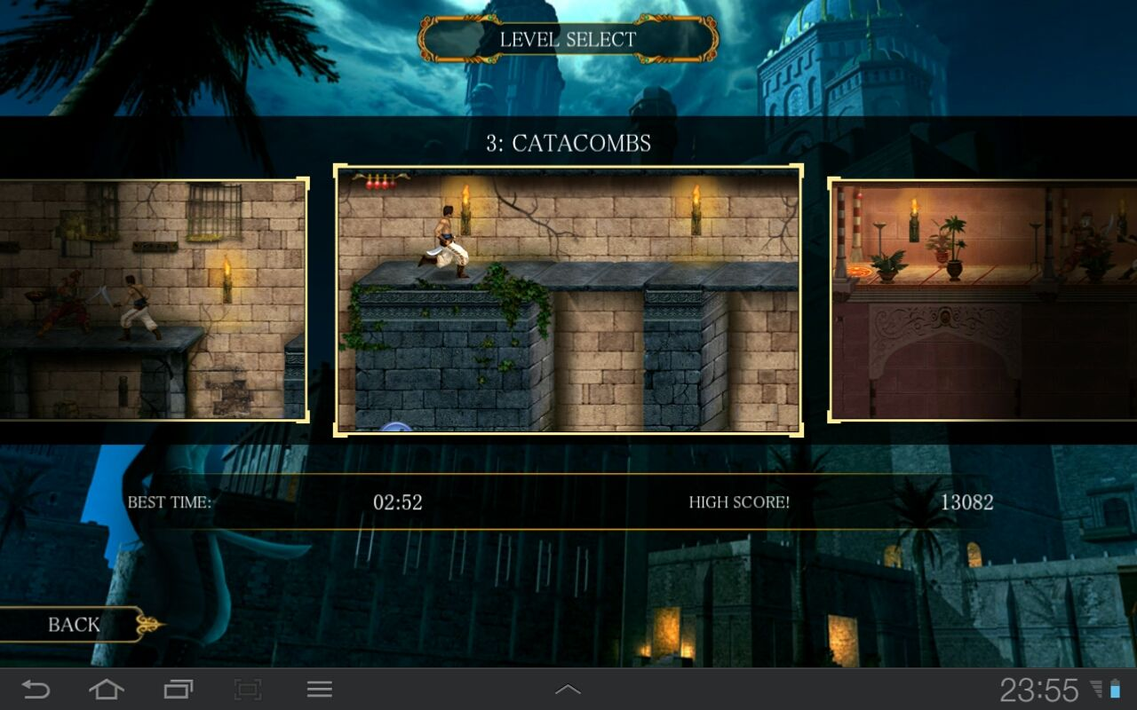 Prince of Persia Classic Android Replay any level