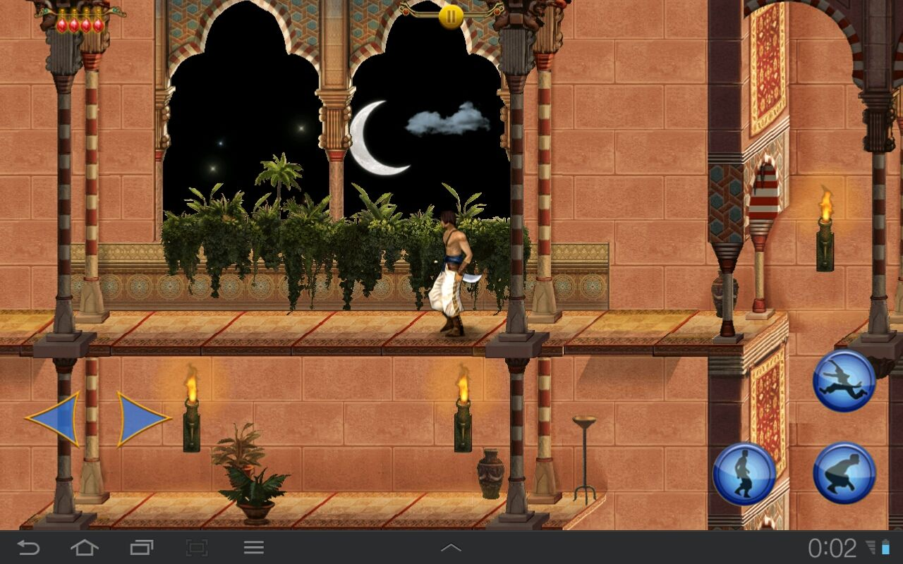 Prince of Persia Classic Android Luxury of the upper palace