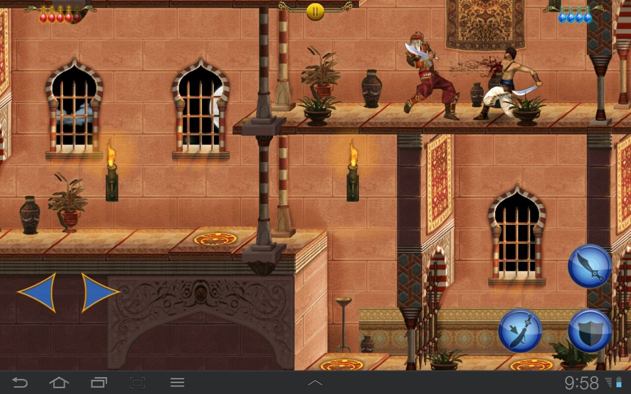 Prince of Persia Classic Android A fierce fight