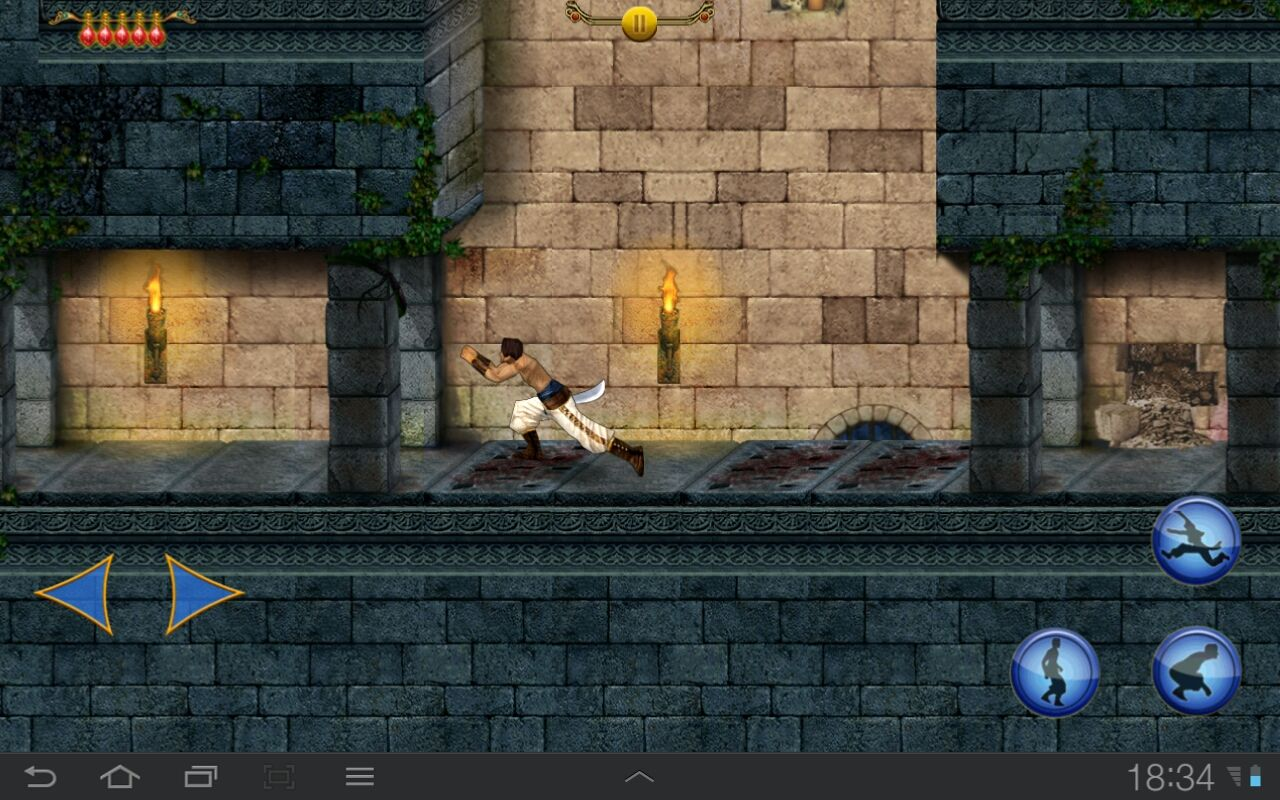 Prince of Persia Classic Android Hope I timed it right