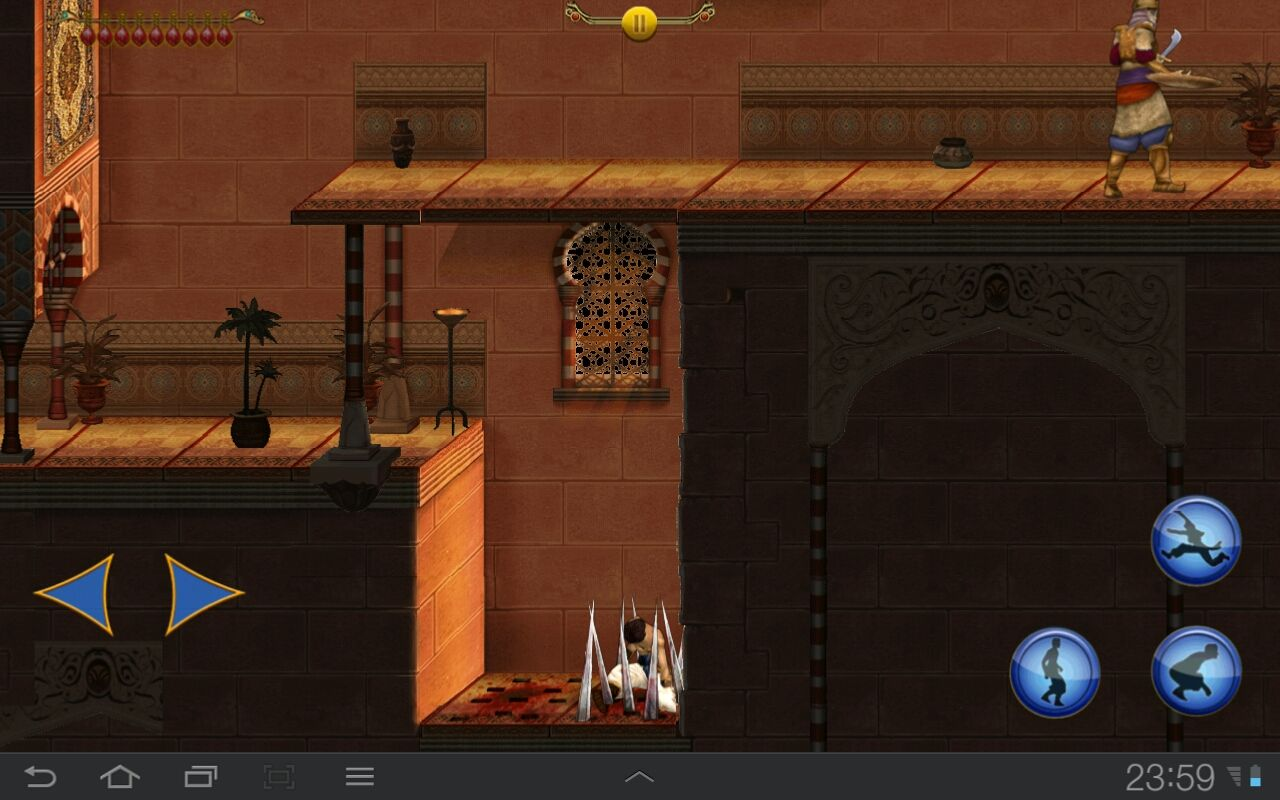 Prince of Persia Classic Android Bad luck Pop