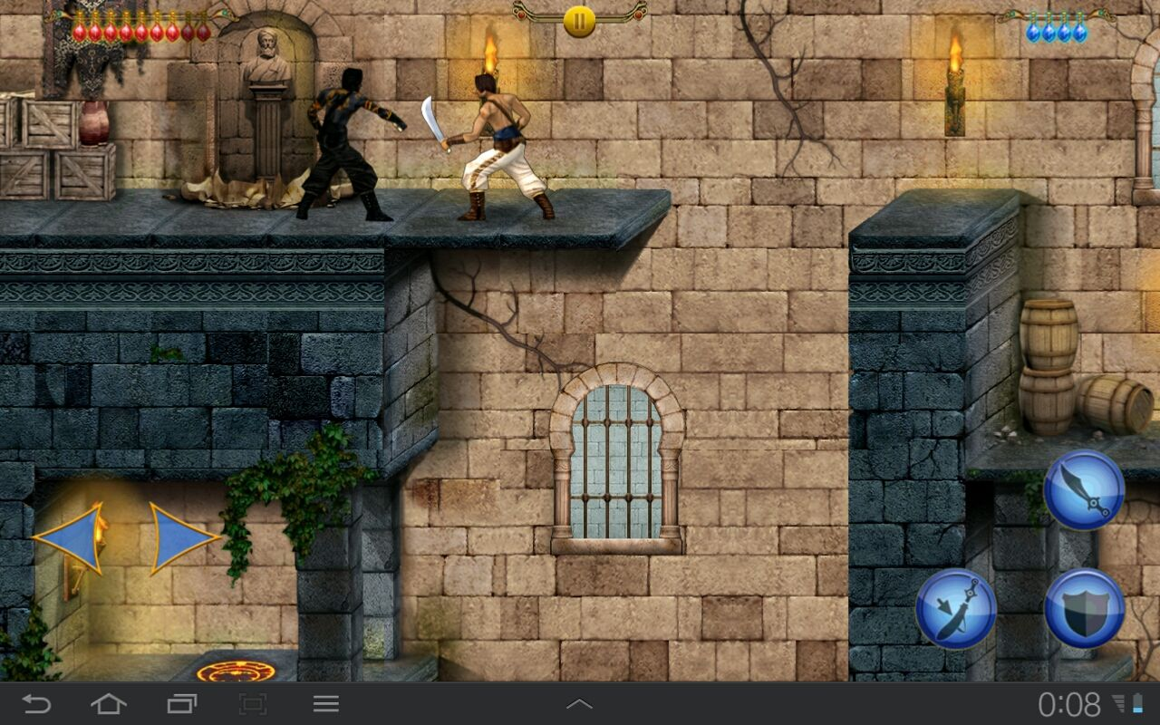 Prince of Persia Classic Android Yeah, it's PoP's evil double