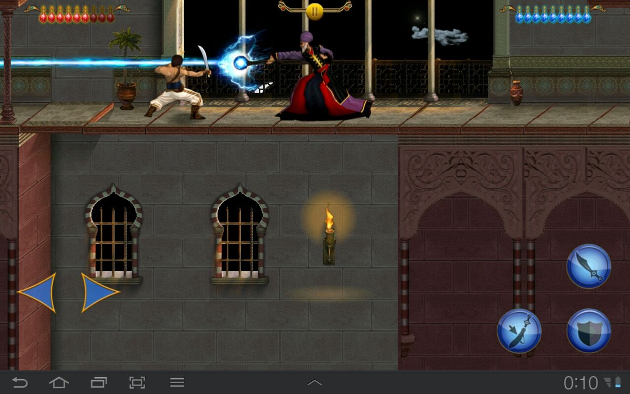 Prince of Persia Classic Android In this version Jaffar is a real wizard