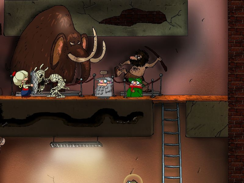 Brat'ja Piloty: Zagadka atlanticheskoj sel'di Windows The elephant we saved in the first game. Oops!