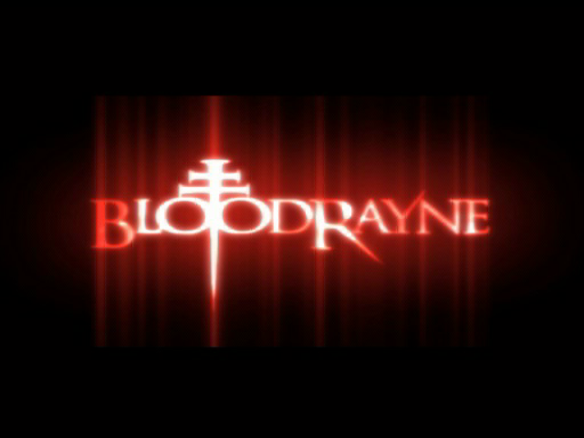 BloodRayne GameCube Game title