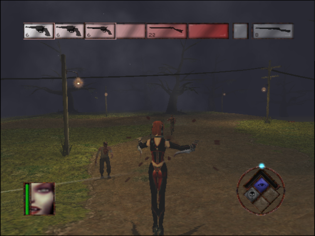 BloodRayne GameCube Picked up some guns