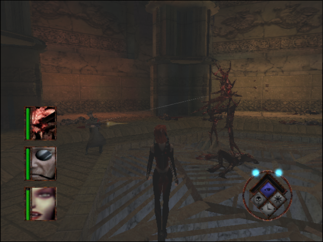 BloodRayne GameCube Another boss fight