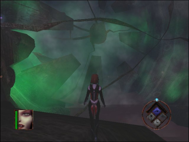 BloodRayne GameCube In the temple
