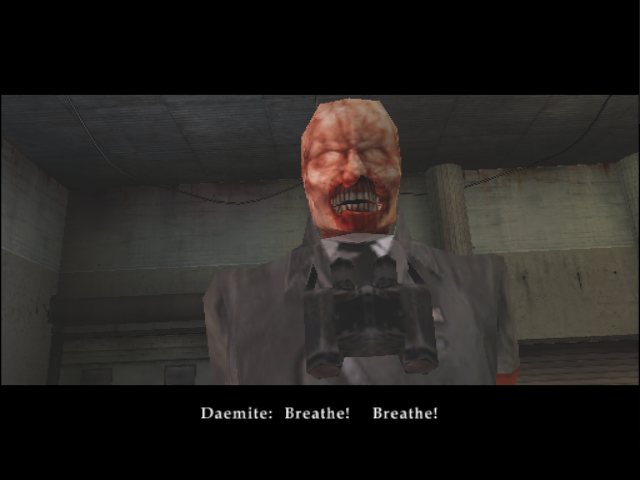 BloodRayne GameCube You, sir, are an ugly monster