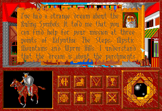 Abandoned Places: A Time for Heroes Amiga The druid is telling us the story.