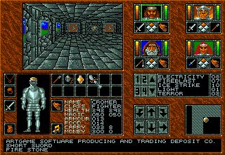 Abandoned Places: A Time for Heroes Amiga In the castle.