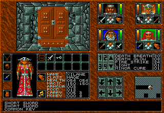 Abandoned Places: A Time for Heroes Amiga In front of the closed cabinet.