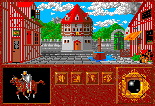 Abandoned Places: A Time for Heroes Amiga In the town