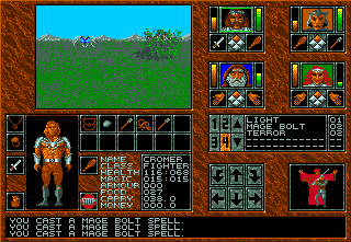 Abandoned Places: A Time for Heroes Amiga During the day, fighting some wasps