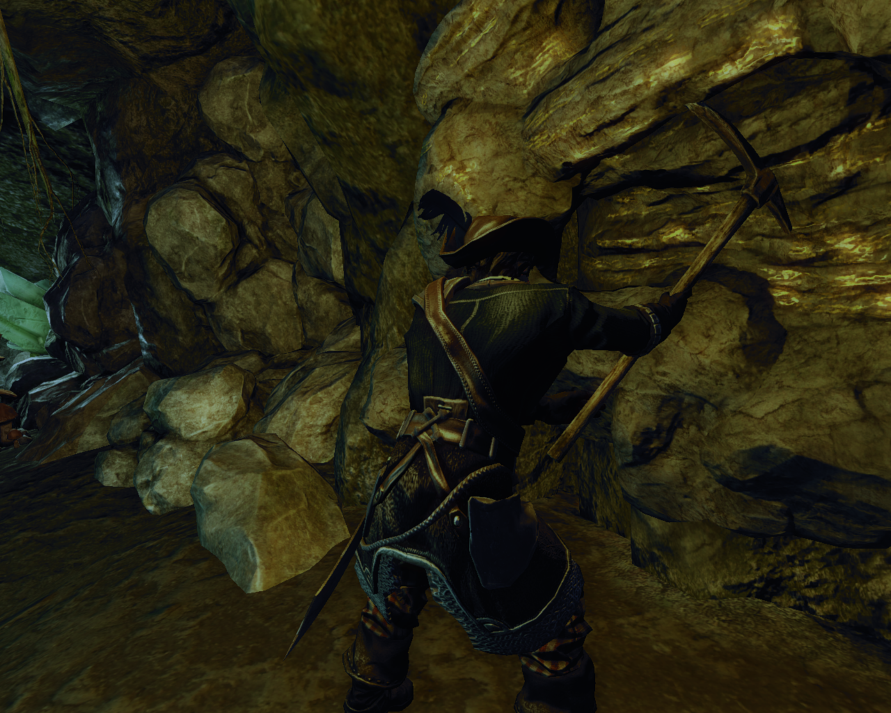 Risen 2: Dark Waters Windows Mining gold