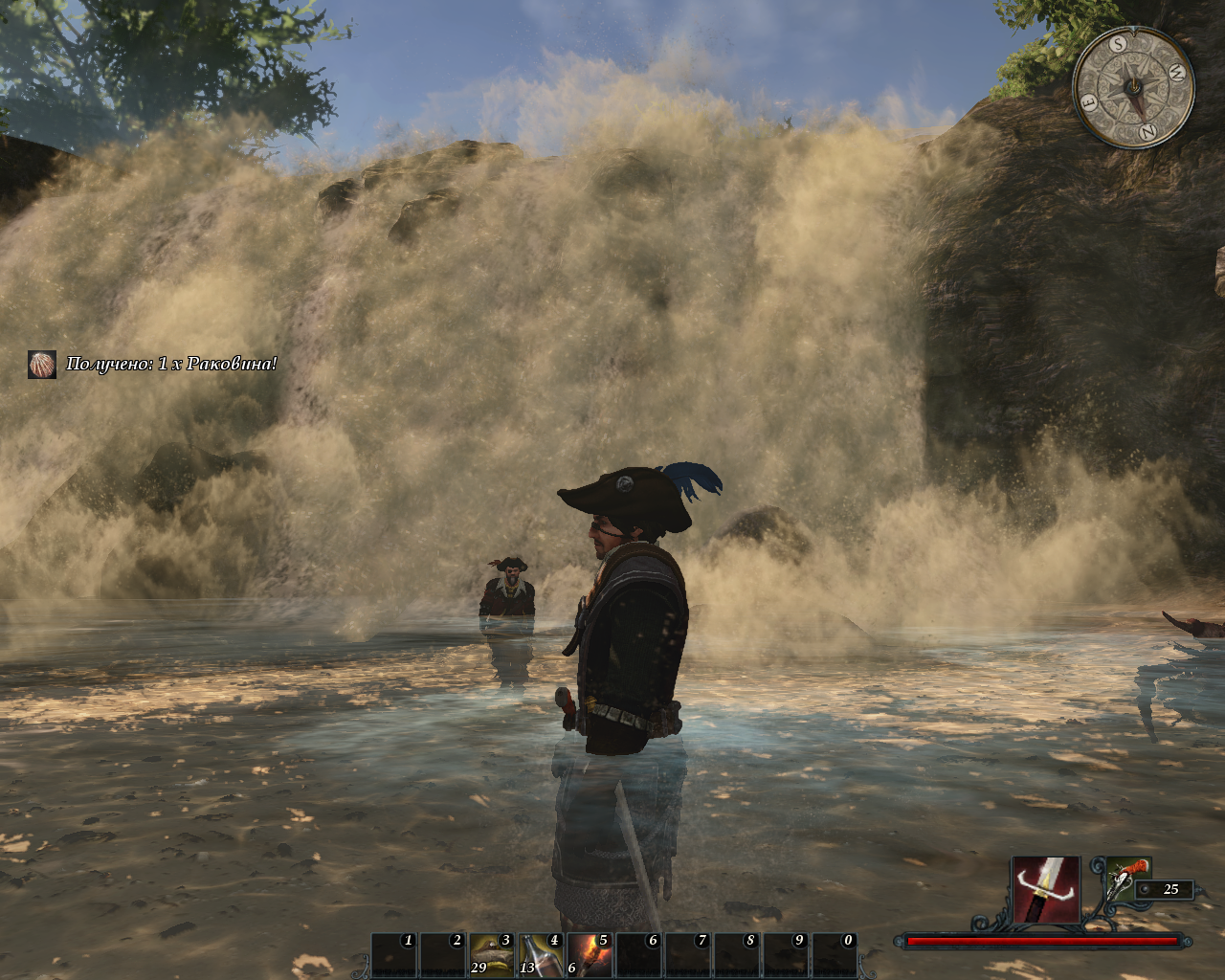 Risen 2: Dark Waters Windows Some really nice effects on waterfalls