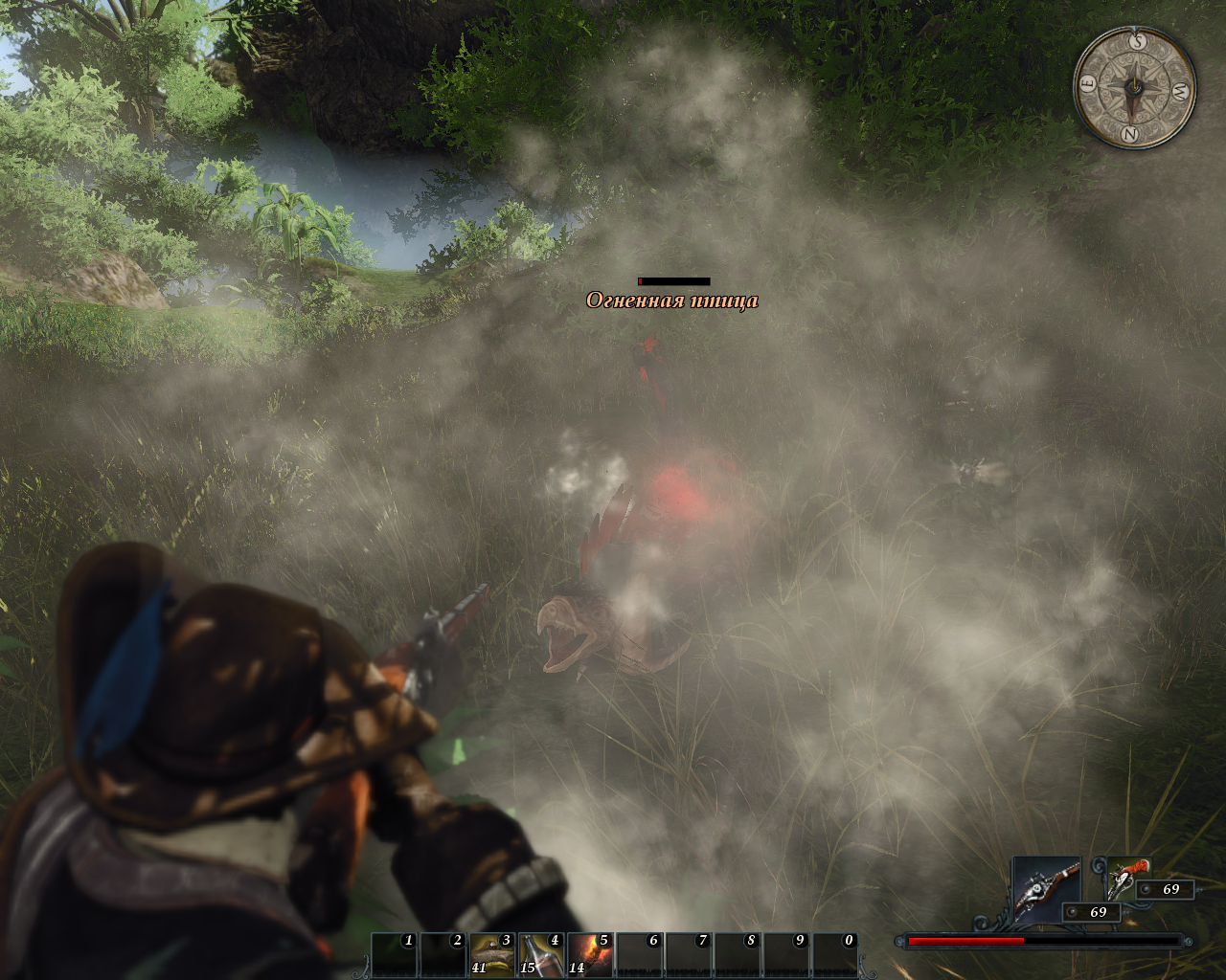 Risen 2: Dark Waters Windows Gunshots may deal massive damage