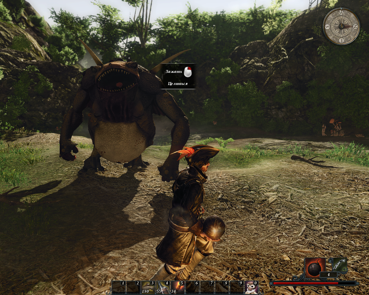 Risen 2: Dark Waters Windows Let's feed the big guy with bombs