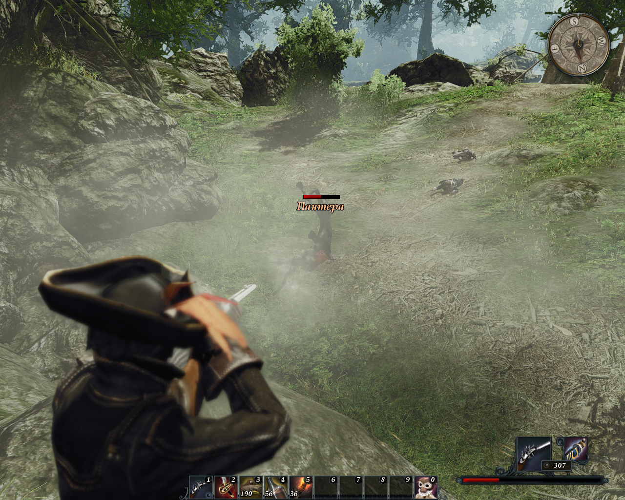 Risen 2: Dark Waters Windows You are a senseless beast, and I am a superior human with a shooting stick standing on a hill where you can't reach me